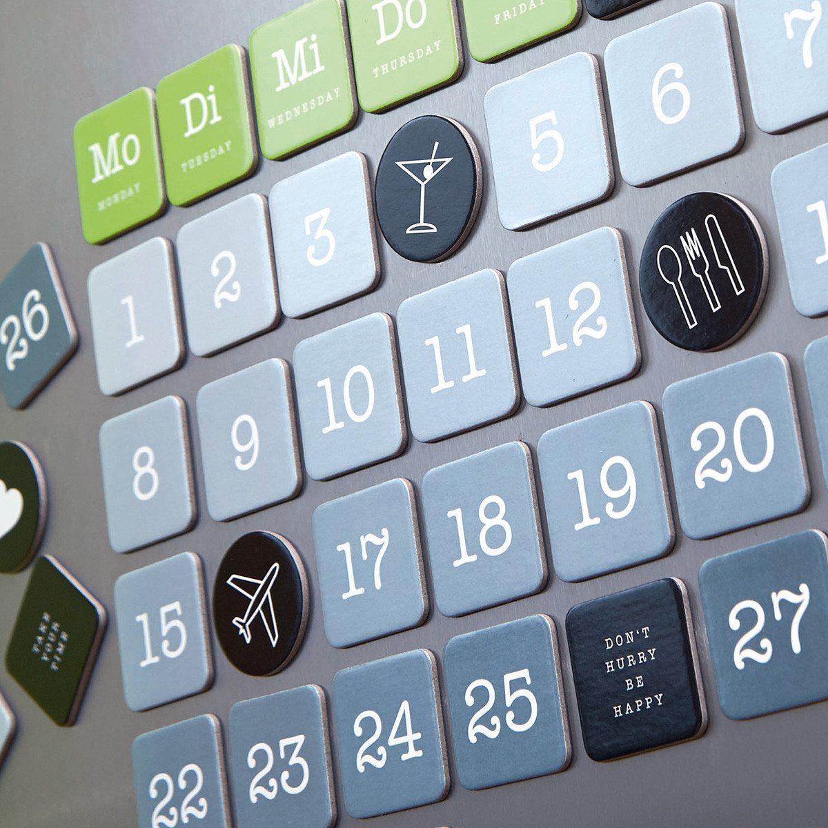 Calendario magnético - Idea para decorar tu frigo