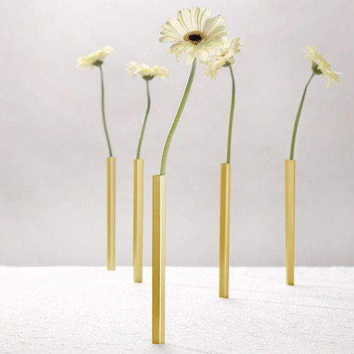 Magnetisches Vasenset (golden)