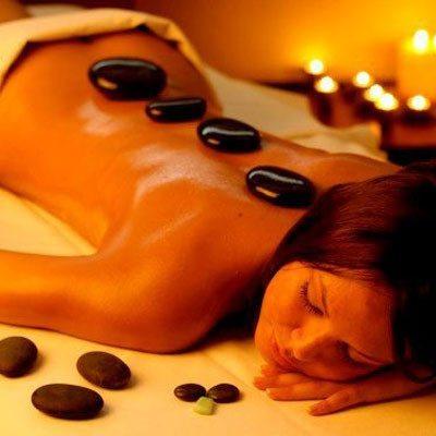 Masaje de piedras calientes - Almería