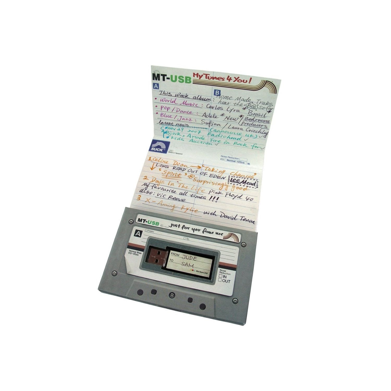 """Pendrive """"Mixtape"""" - La mejor manera de guardar tus archivos"""