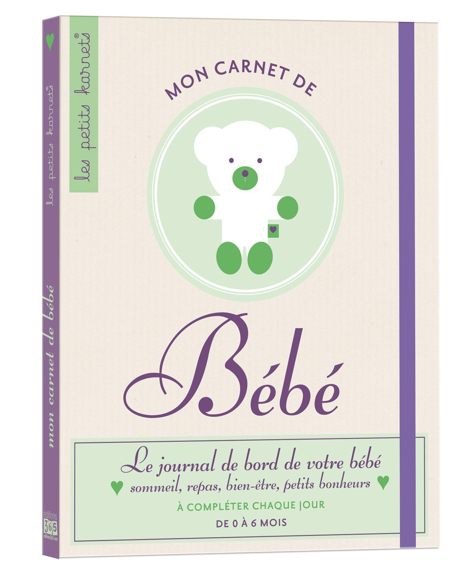 Mon carnet de bébé