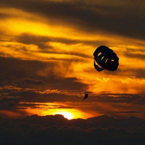Parasailing con Puesta de Sol - Ibiza