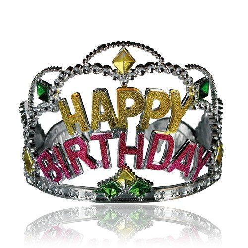 "Party-Krone ""Happy Birthday"""
