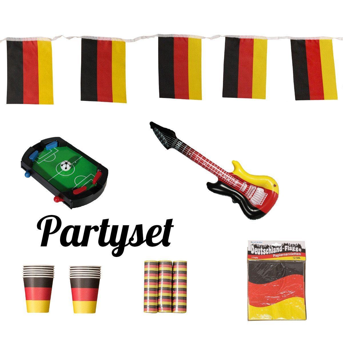 Partyset zur Fußball-EM