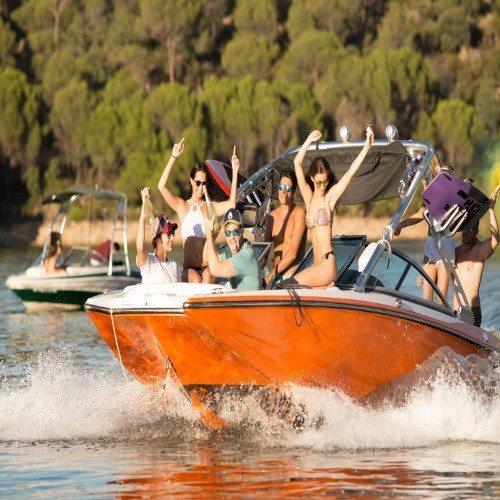 Paseo en barco + Kayak en pareja - Madrid