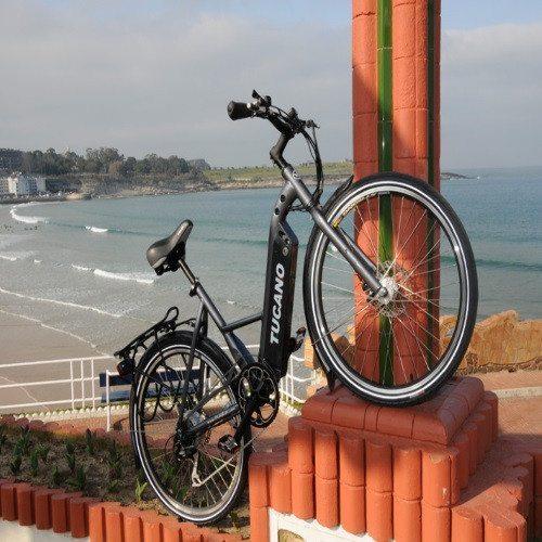 Paseo en bicicleta eléctrica - Santander