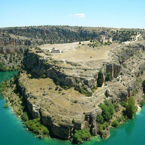 Piragüismo para niños por el Parque Natural de Hoces- Segovia