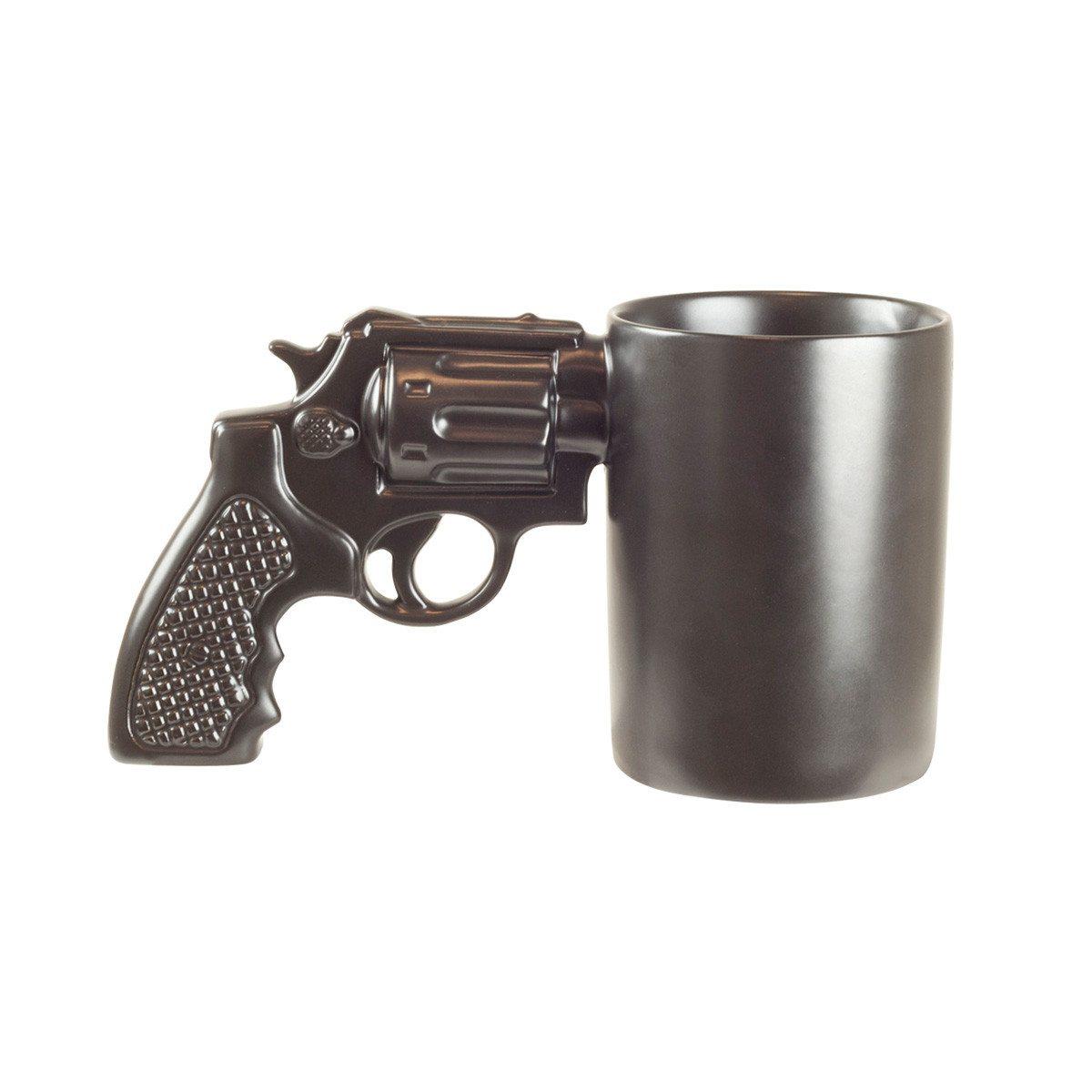 """Taza divertida """"Revolver"""" para un disparo de café"""