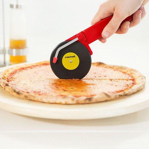 Cortador de pizza  para melómanos - Disco de vinilo