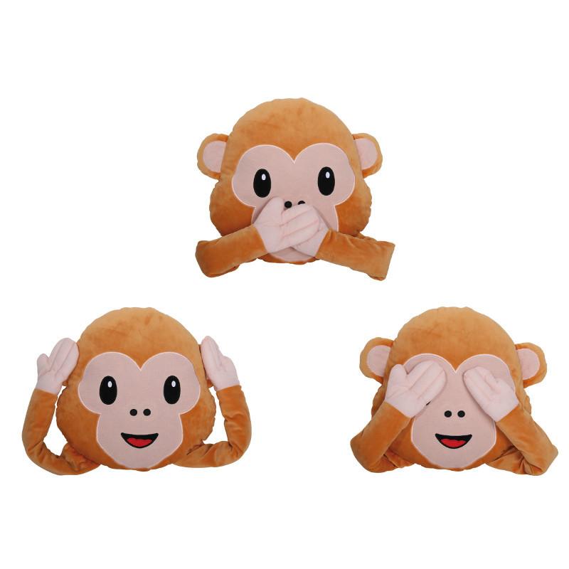 Cojín Emoticono Mono – La almohada más famosa