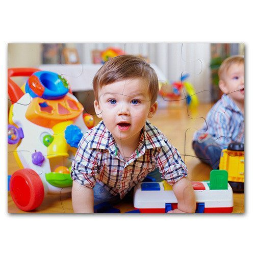 Puzzle foto bebé