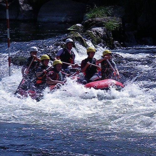 Rafting en el rio Miño - Pontevedra