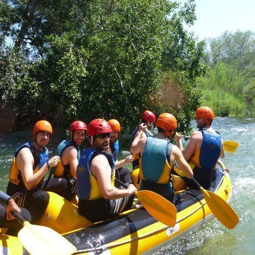 Rafting en río Guadazaon - Cuenca