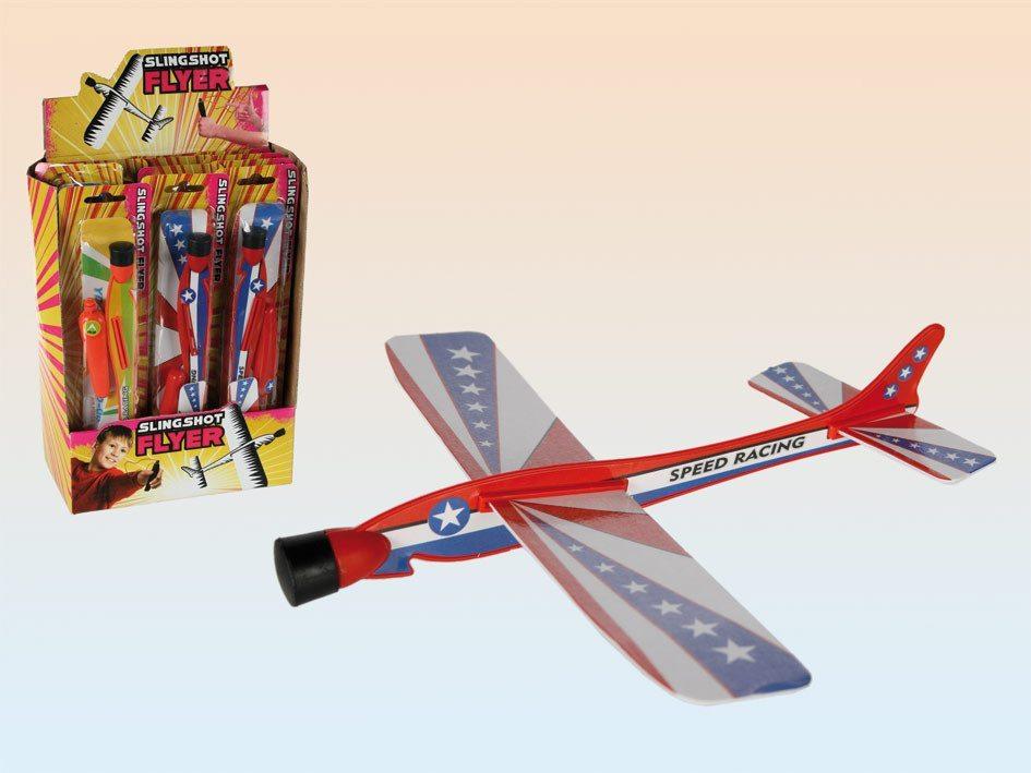 Avión para lanzar - Verde & Naranja