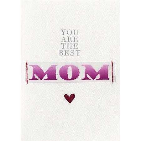 Tarjeta de felicitación para el día de la Madre