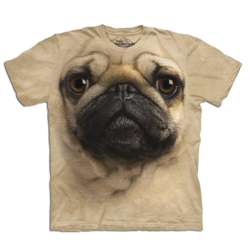 Camiseta Big Face 3D - Perro - XL