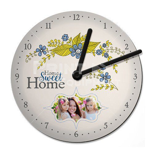 Reloj de pared madera – Personalizable con foto