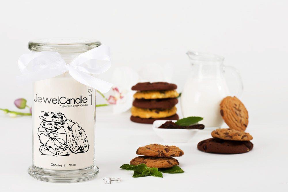 JewelCandle - La vela con un anillo en su interior - Cookies and Cream