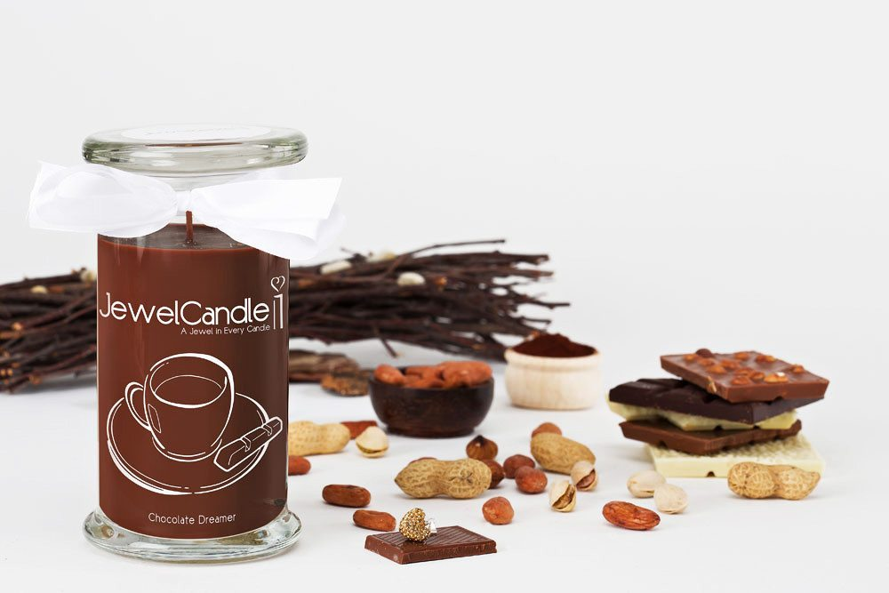 JewelCandle - La vela con una joya escondida - Chocolate Dreamer