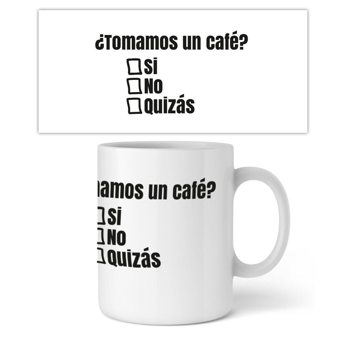 """Original Taza - """"Si, No, Quizás"""" - Pon tu pregunta"""