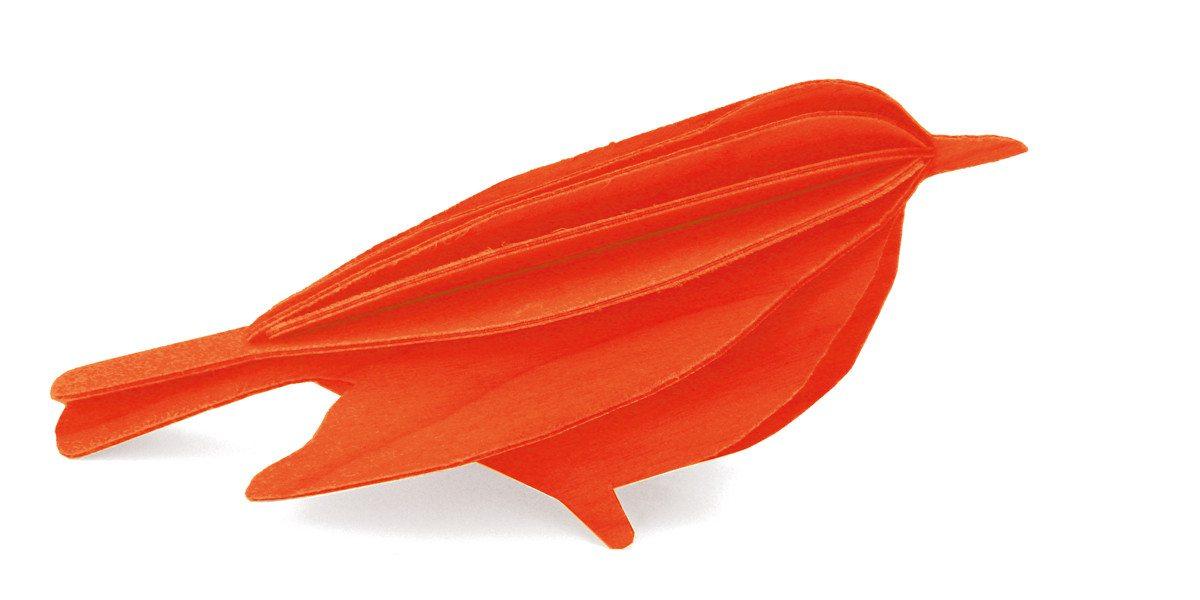 Postal de madera Lovi para montar en 3D – Golondrina