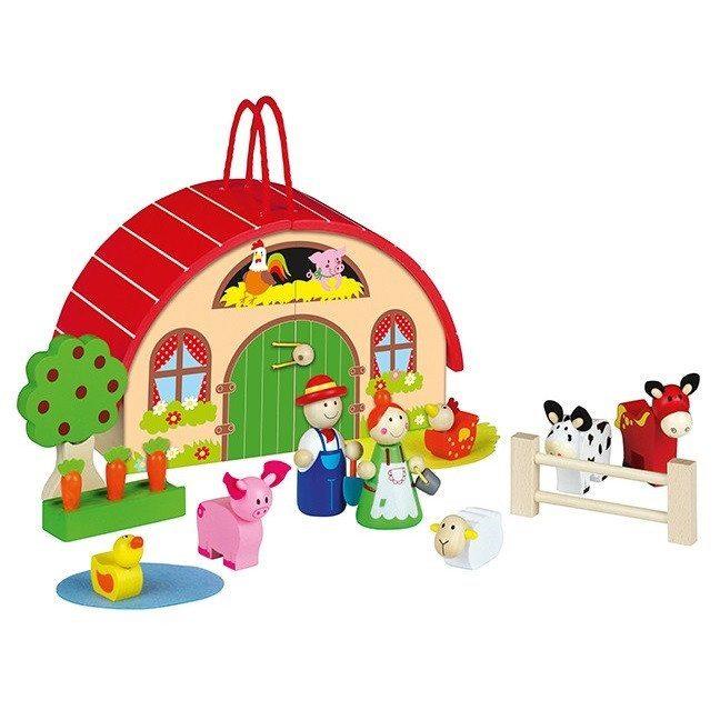 """""""Mi primera granja"""" para los peques de la casa"""