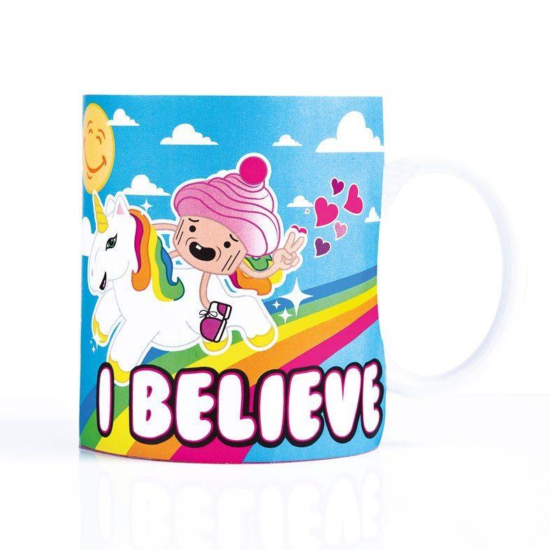 """""""Unicornio"""" - La taza de desayuno para despertarse dulcemente"""