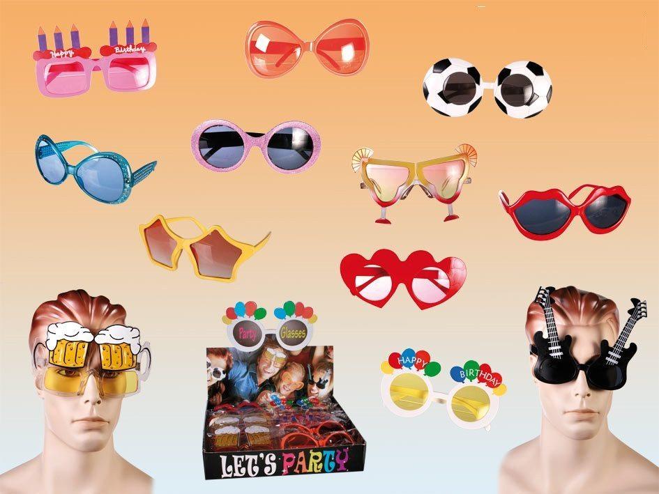 Gafas de broma para fiestas locas