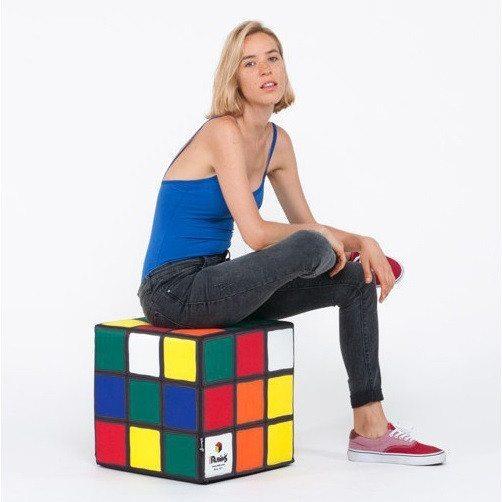 Puff divertido Cubo de Rubik – el puf para volver a los 90