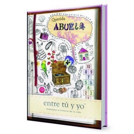 """Libro """"Querida Abuela"""" – libro personalizable para abuelas"""