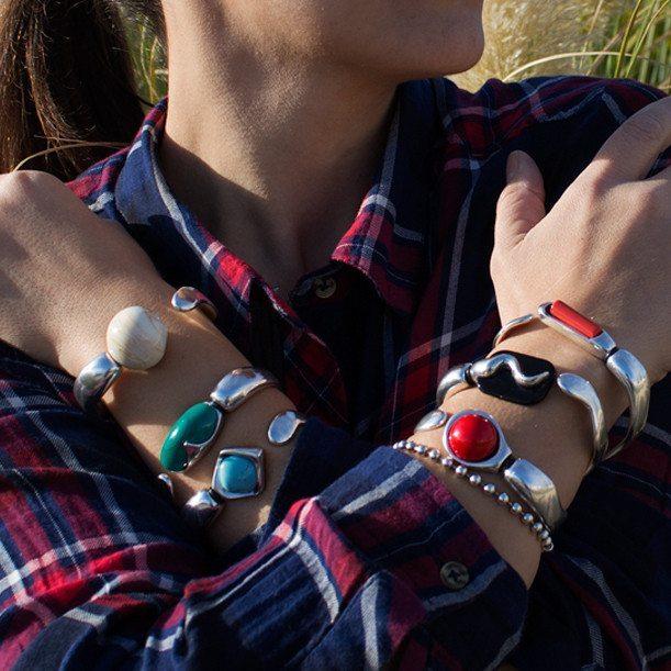 Set de pulseras de colores - 6 pulseras en 1