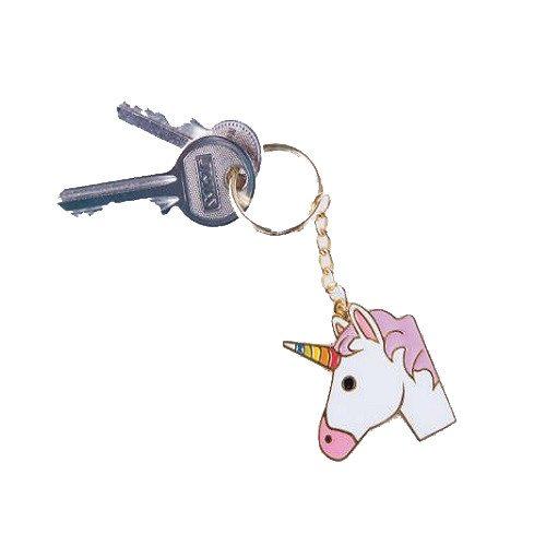 Llaveros Emoji - Unicornio