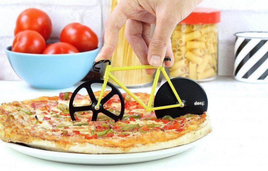 """Cortador de pizza """"Bici"""" – El más original"""