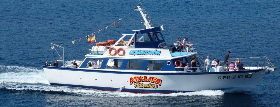Excursión de 2 horas en barco desde Peguera - Mallorca