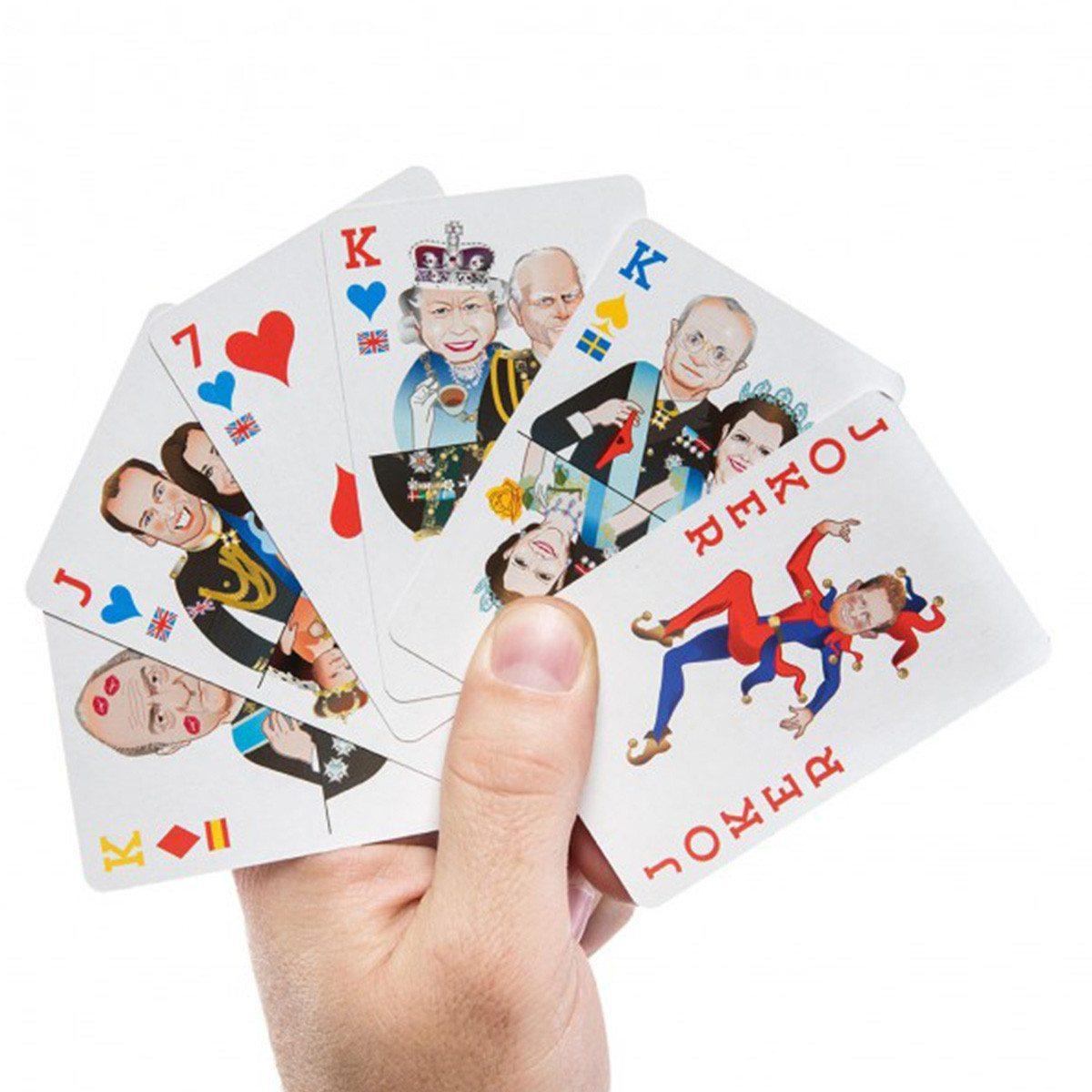 Juego de cartas - Escalera real