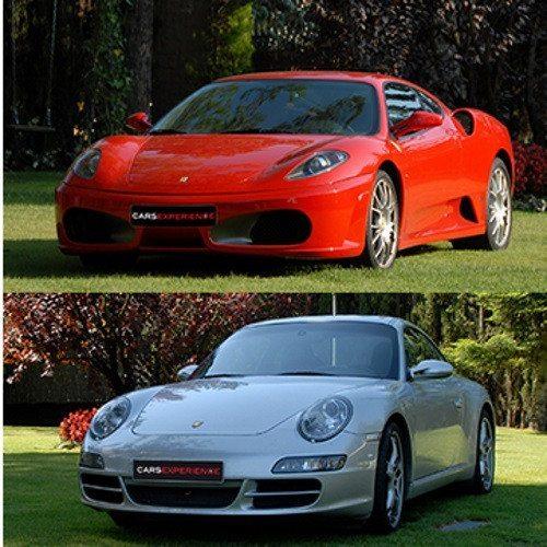 Ruta en Ferrari o Porsche por el Monte Tibidado - Barcelona