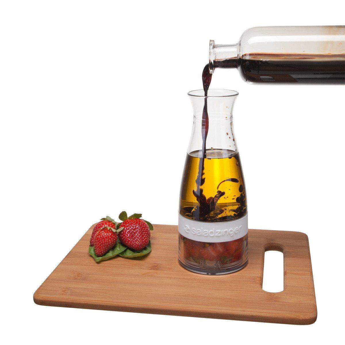 SaladZinger - Mezclador de aliño para tus ensaladas