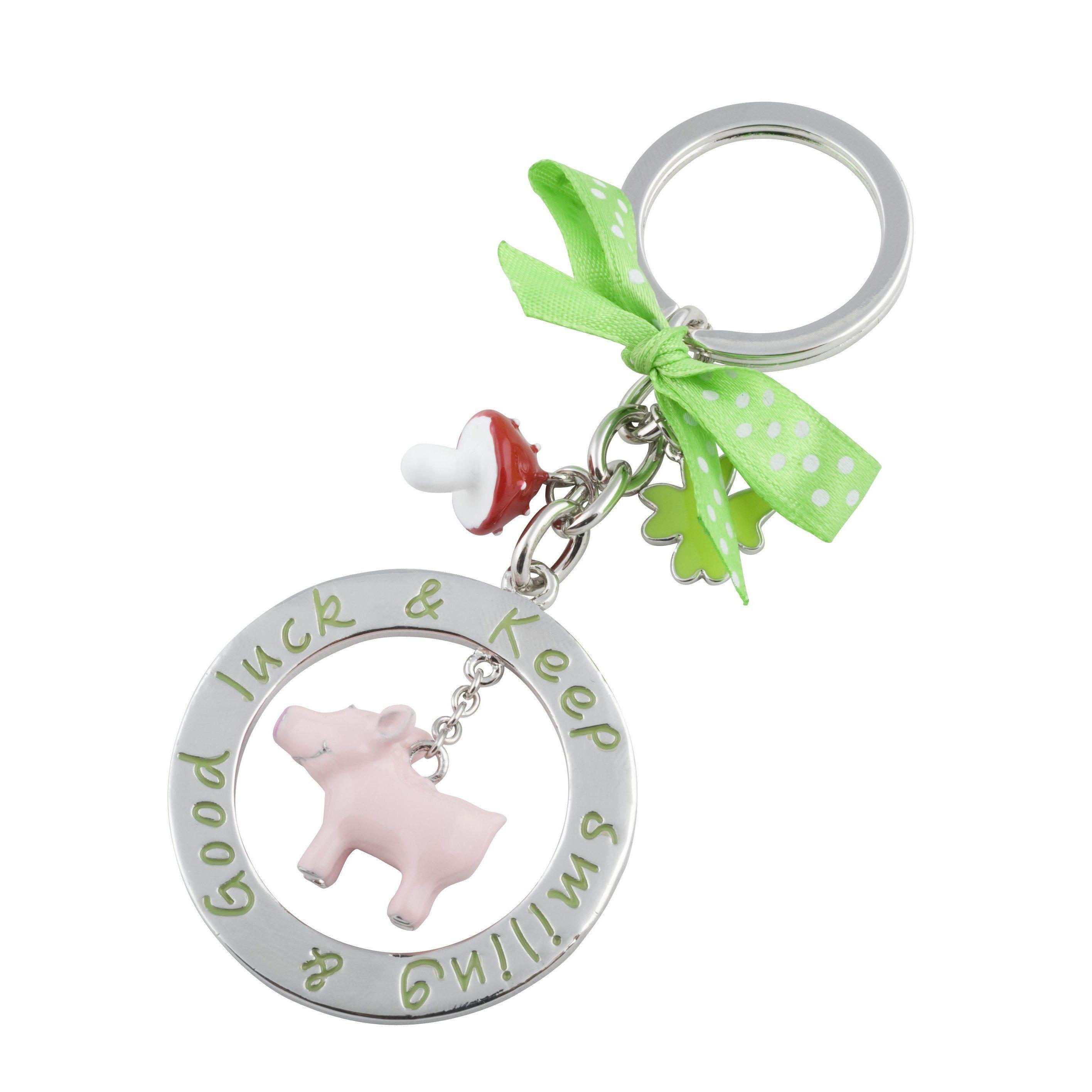 Schlüsselanhänger Schwein