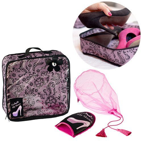 Bolsa de viaje para zapatos - Perfecto para chicas a la moda