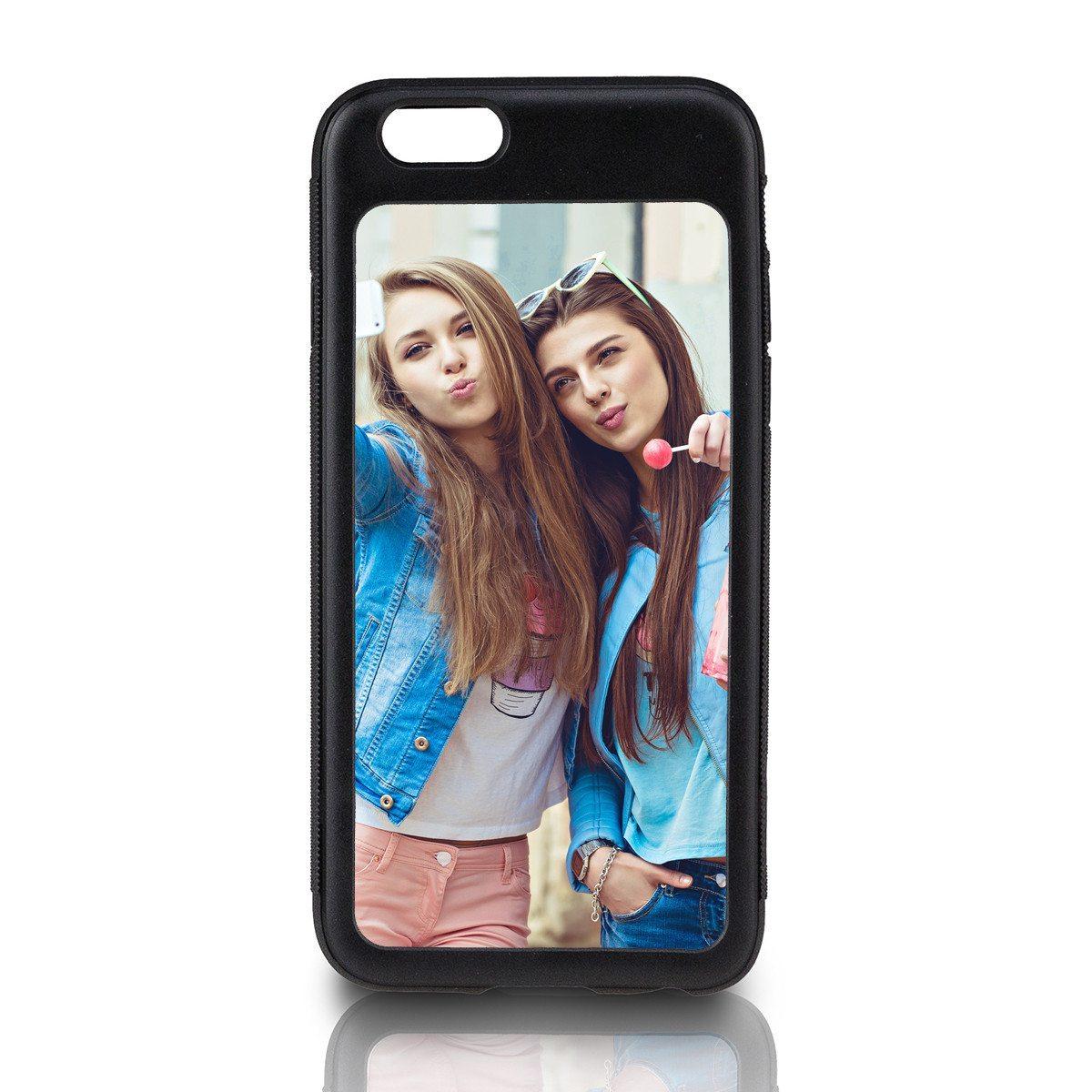 Schwarzes iPhone-6-Cover bedrucken
