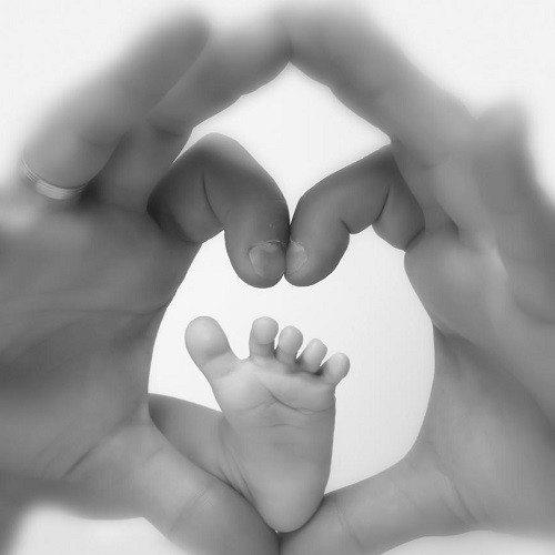 Sesión fotográfica en estudio para bebés - Oviedo