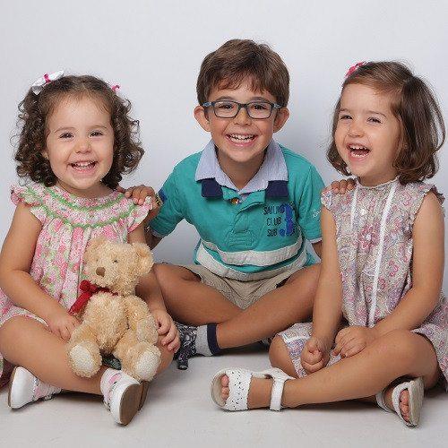 Sesión fotográfica infantil en estudio - Oviedo