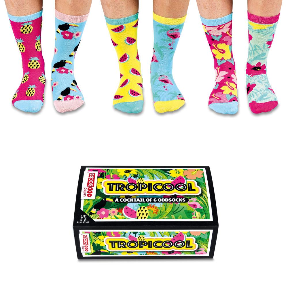 """Set de calcetines """"Tropicool"""""""