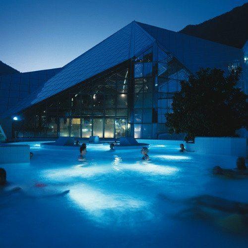 Spa Nocturno, Cena en Inúu y Caldea - Andorra