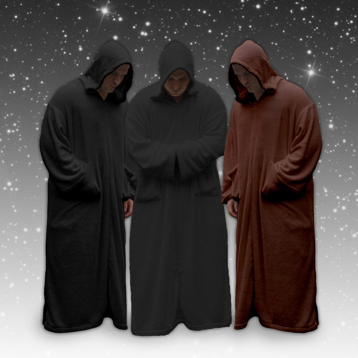 Túnica polar Jedi – la capa albornoz del imperio