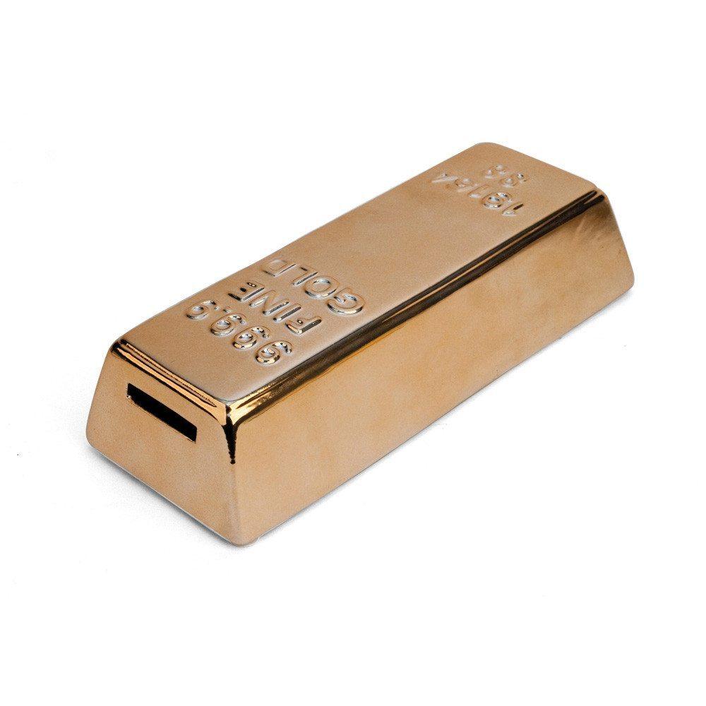Hucha lingote de oro para los más ahorradores
