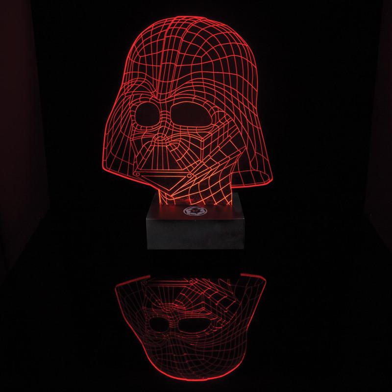Star Wars: Darth Vader – Lámpara de cristal acrílico