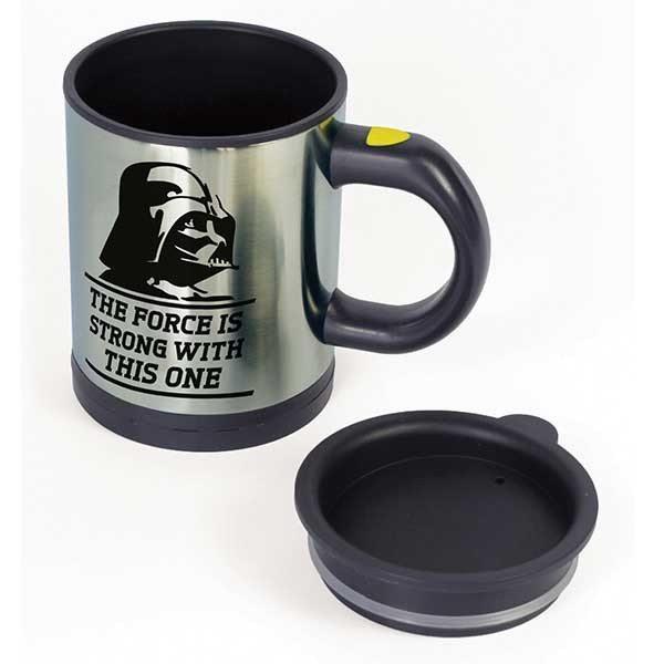 Star Wars - taza que se remueve sola