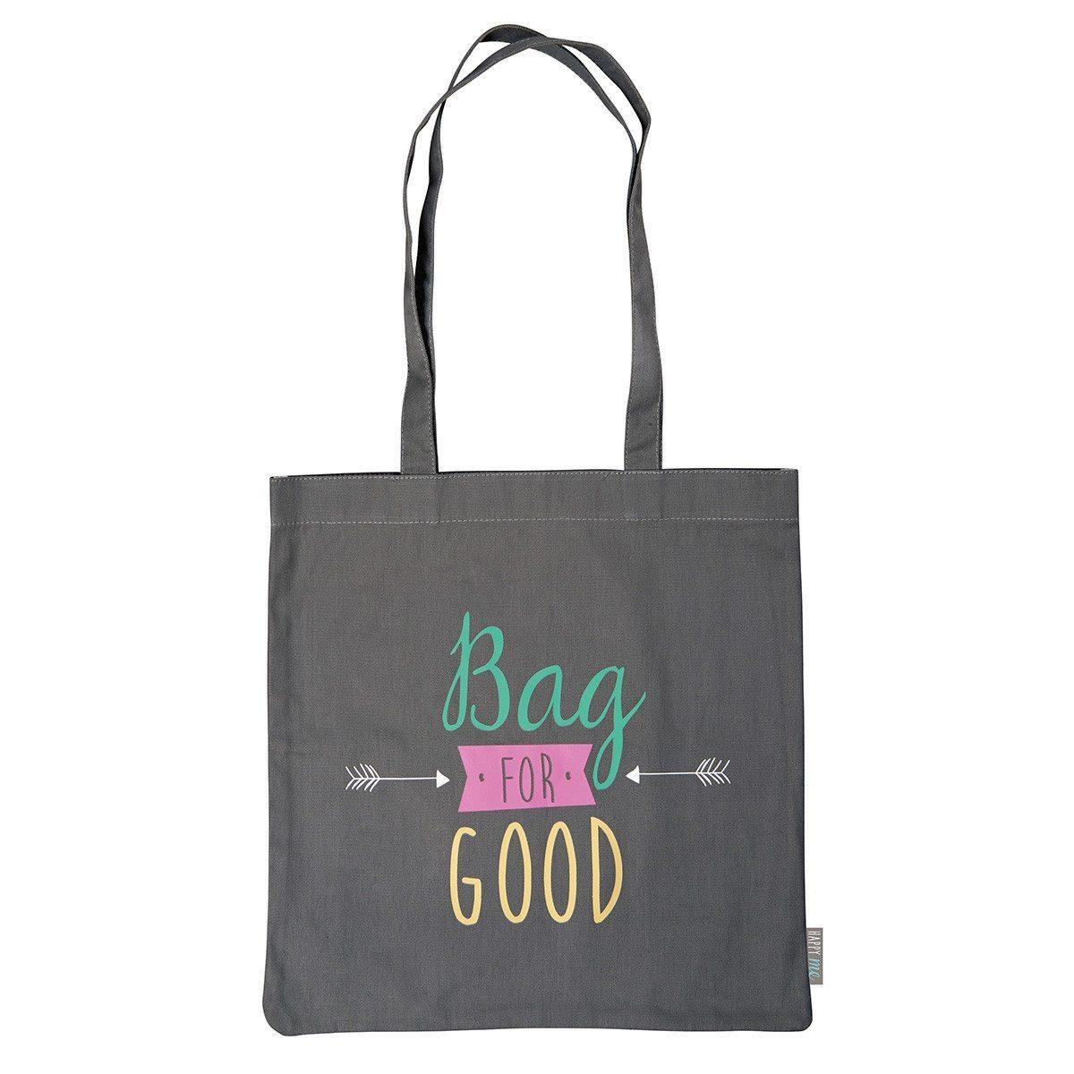 "Bolsa de tela – ""Bolsa para lo bueno"""