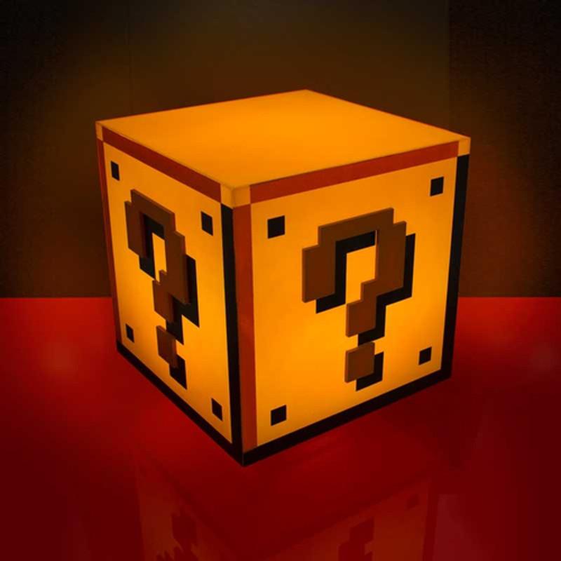 Lámpara de Super Mario 8 bits